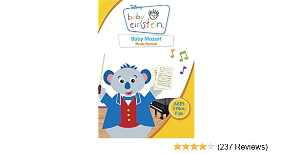 Amazon com: Baby Einstein - Baby Mozart - Music Festival