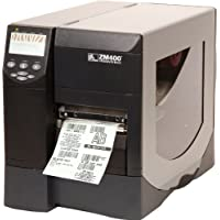 Z Series ZM400 - Label printer - B/W - direct thermal / thermal transfer - Roll (4.5 in) - 203 dpi - up to 600 inch/min - Parallel, Serial, USB