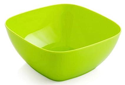 C Pioneer Plastic Fruit Bowl Salad Bowl Candy Dish Serving Bowls Green