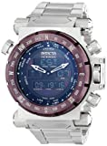 Invicta Men's 13076 Intrinsic Analog-Digital Display Swiss Quartz Silver Watch