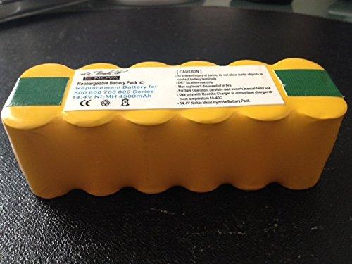 Batería 4500mAh más potente Compatible iRobot Roomba 531, 555, 560, 581, 650, 760, 760, 780 + Cepillo de regalo: Amazon.es: Hogar