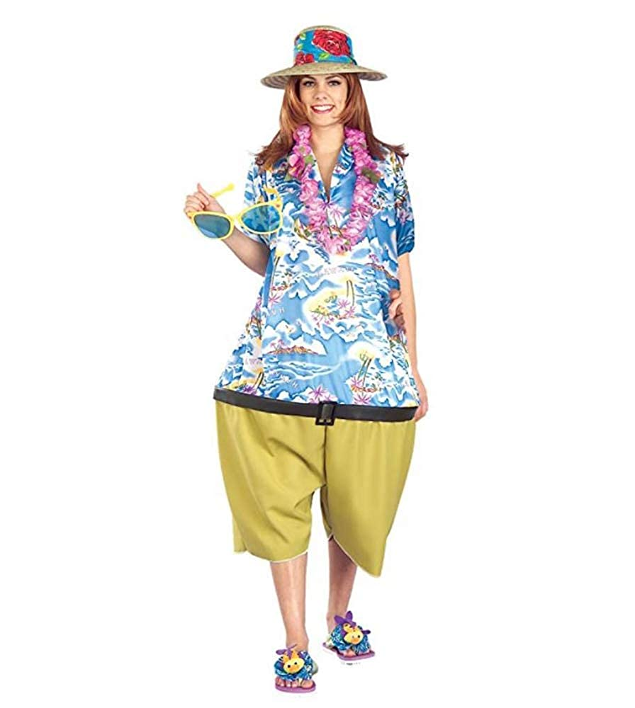 Amazon Com Forum Novelties Unisex Tropical Tourist Costume Qty 1