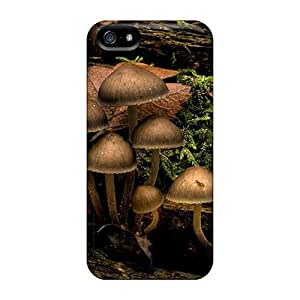 New Fashion Premium Tpu Case Cover For Iphone 5/5s - Cogumelos