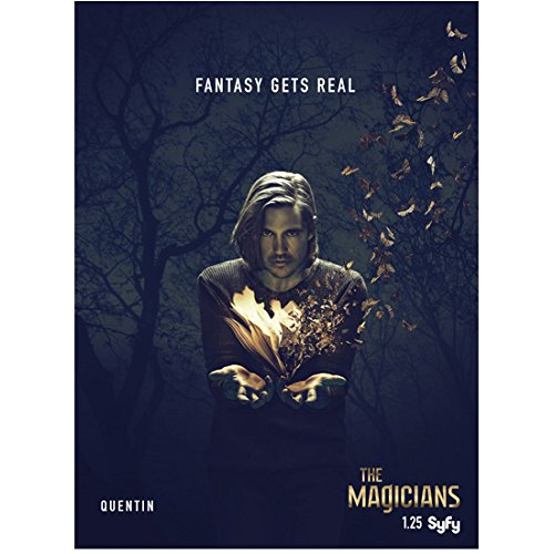 "Jason Ralph 8 inch x 10 inch Photograph The Magicians (TV Series 2015 - ) ""Quentin"" Title Poster kn"