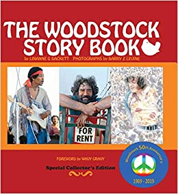 fe252f69c The Woodstock Story Book  50th Anniversary Collectible With Hundreds of  Color Photos and Active links to Celebrities - their lives