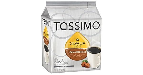 Tassimo gevalia Swiss Avellana Café (16 T-Discs): Amazon.com ...