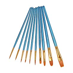 Heartybay 10Pieces Round Pointed Tip Nyl...