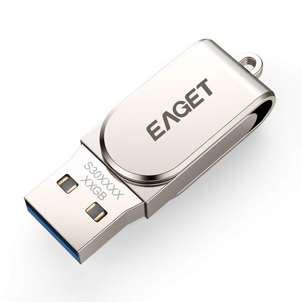 Eaget S30 USB 3.0 Flash Drive USB Pen Drive Metal Mini Pendrive USB Key Flash Memory Stick (64GB) by Eaget (Image #2)