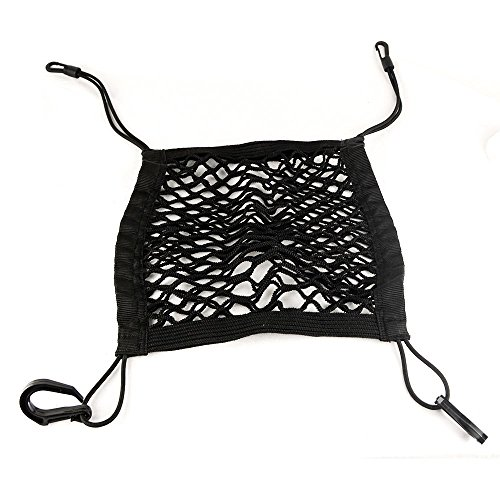 mictuning universal car seat storage mesh organizer mesh cargo net hook pouch holder for bag. Black Bedroom Furniture Sets. Home Design Ideas