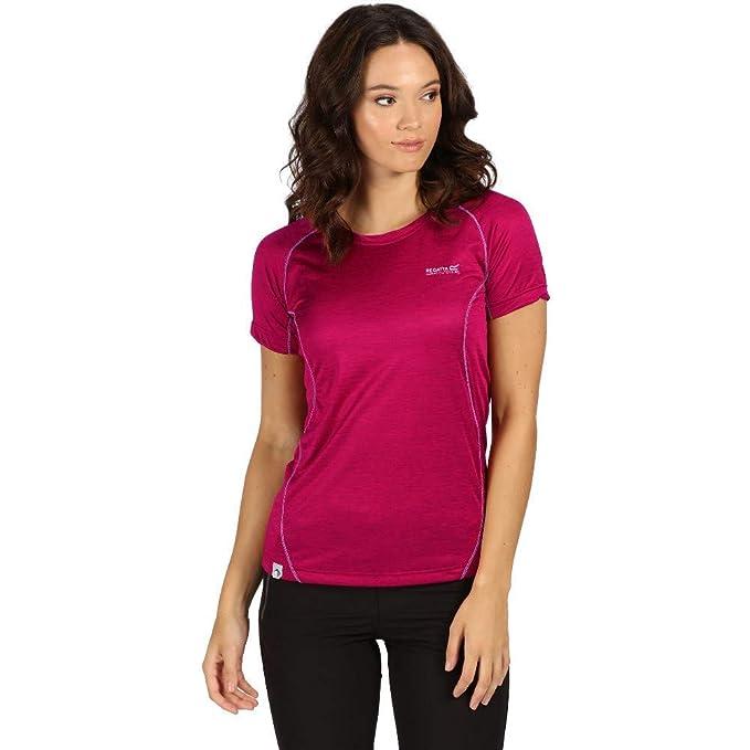 Regatta Damen T-Shirt Virda Iii Quick Drying Active Sports