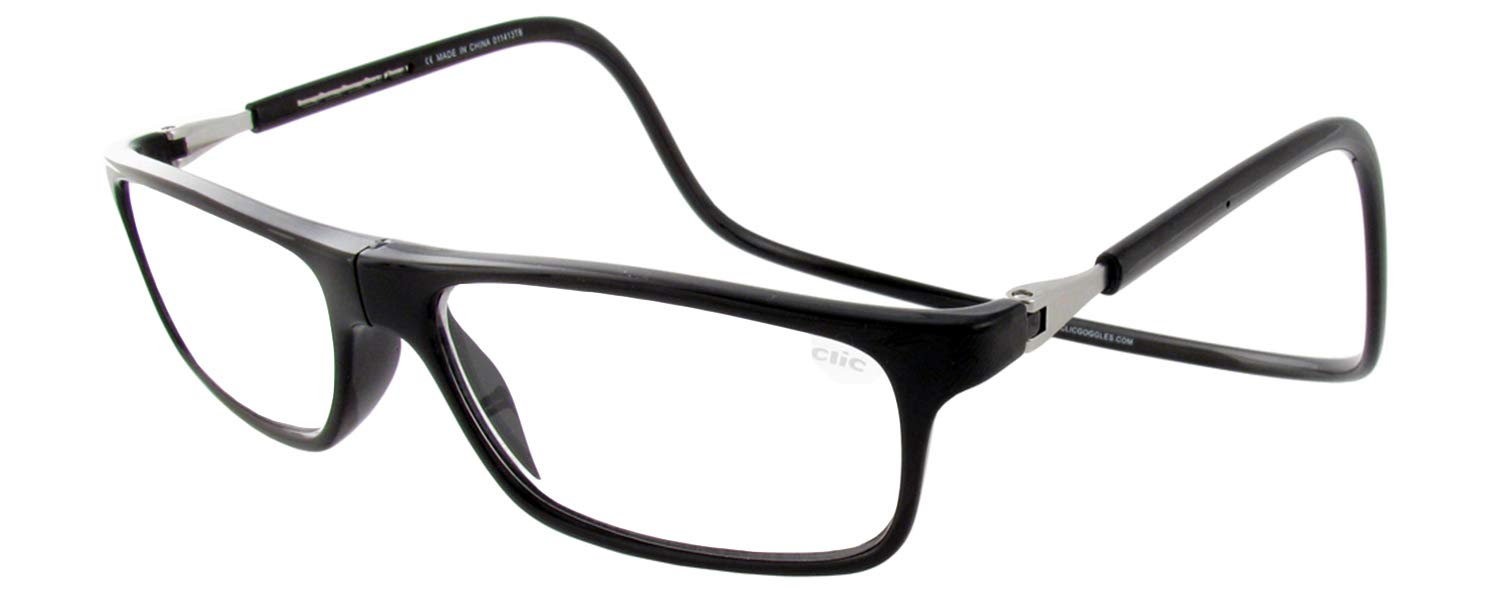 Clic Magnetic Executive Reading Glasses (Black, 3.5) by CliC