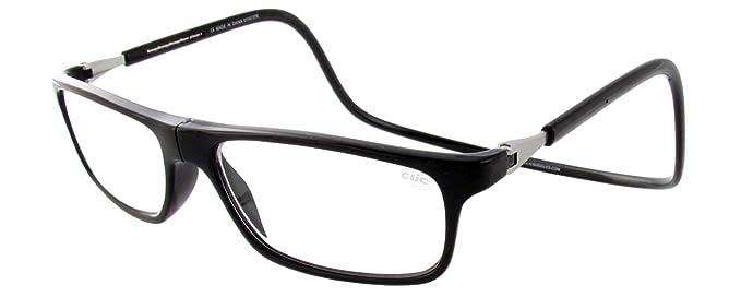 2aeb19d913ca Amazon.com  Clic Magnetic Executive Reading Glasses in Black   1.25 ...