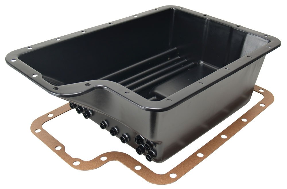 Derale 14208 Transmission Cooling Pan for Ford E4OD, 4R100, 5R110 and5R110W