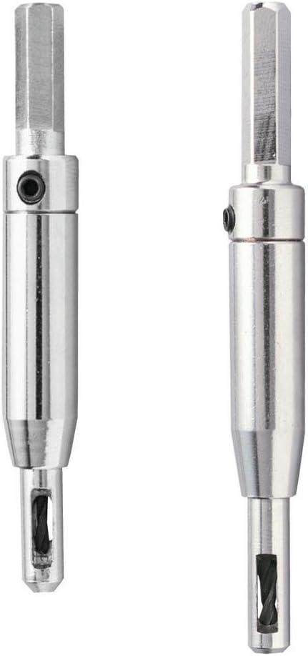 "General Tools 290ST Self Centering Hinge Drill Bit Set, 2-Piece, Metal, 7/64"", 9/64"""