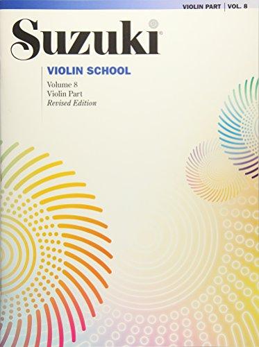 - Suzuki Violin School, Vol 8: Violin Part