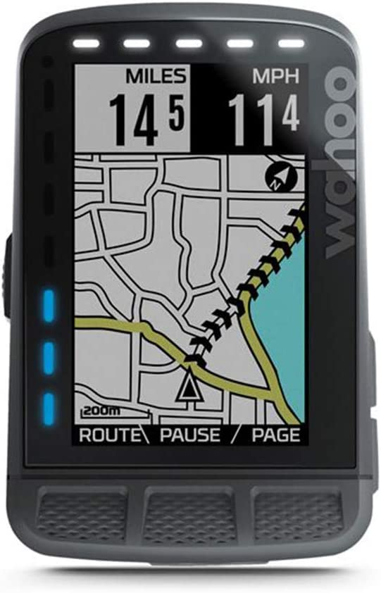 Wahoo Fitness ELEMNT Roam GPS Bike Computer, Unisex Adulto, Negro