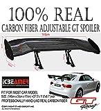 "ICBEAMER 57"" JDM Style Real Carbon Fiber"