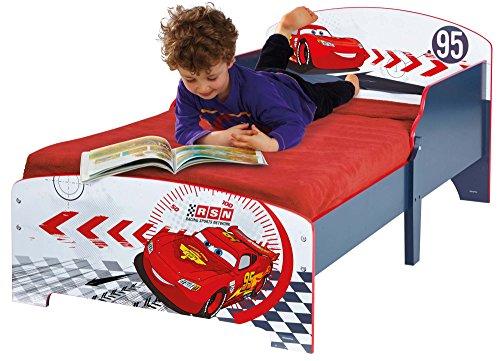Kinderbett Cars- Einzelbett für Kinder - Lightning McQueen - 140x70 cm