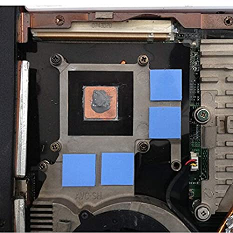 Rarido 10pcs//lot 15x15x0.3mm DIY Copper Shim Heatsink Thermal Pad Cooling for Laptop BGA CPU VGA Chip RAM IC Cooler Heat Sink