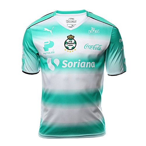 レシピ構造ヒットPuma Santos Home Stadium Jersey 2016-17/サッカーユニフォーム サントス ホーム用