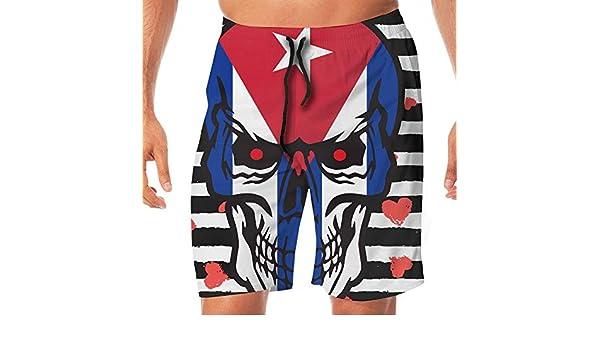 STDKNSK9 Mens Osteosarcoma Cancer Awareness USA Flag-1 Boardshorts Beach Shorts