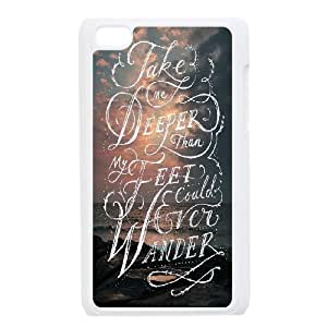 Bible verse Custom Plastic Case for iPod Touch 4 by Nickcase
