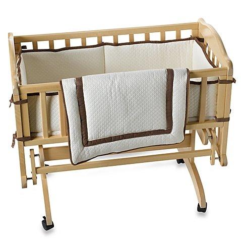 Ecru Matelasse Cradle Bedding by KidslineTM