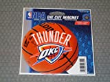 WinCraft Oklahoma City Thunder Official NBA 4.5 inch x 6 inch Car Magnet by 293459