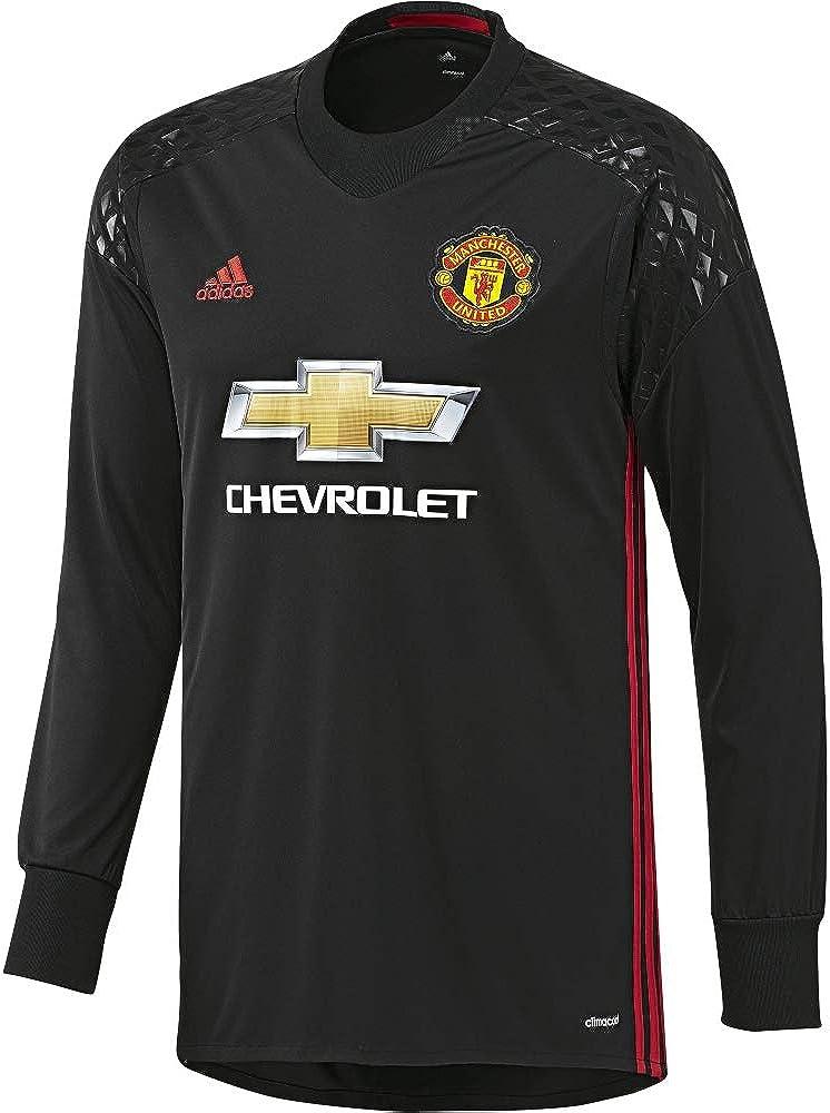 adidas Manchester United H Gk JSY - Camiseta 1ª Equipación Portero Manchester United 2015/16 Hombre: Amazon.es: Ropa y accesorios