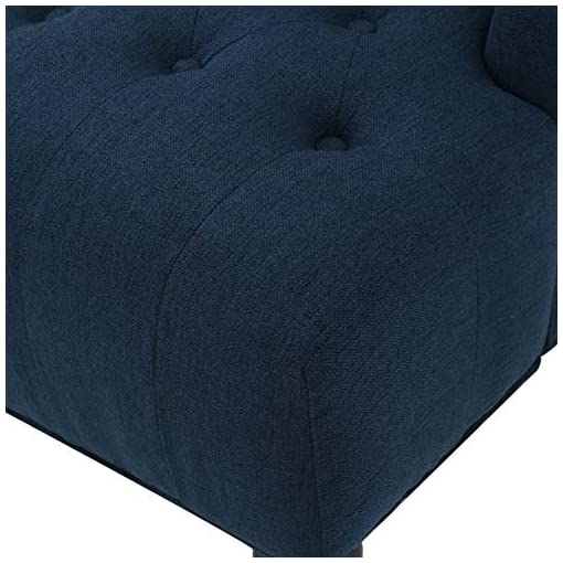 Farmhouse Accent Chairs Christopher Knight Home Toddman High-Back Fabric Club Chair, Dark Blue farmhouse accent chairs