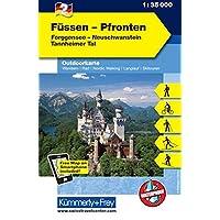 Füssen - Pfronten Nr. 2 Outdoorkarte Deutschland: 1:35 000, Mit kostenlosem Download für Smartphone (Kümmerly+Frey Outdoorkarten Deutschland)