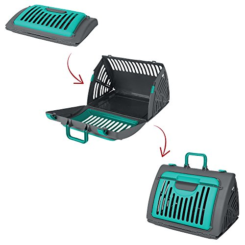 SportPet-Designs-Travel-Cat-Carrier-Front-Door-Plastic-Collapsible-Large