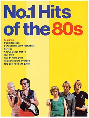 No.1 Hits of the 80s. Partituras para Piano, Voz y Guitarra ...