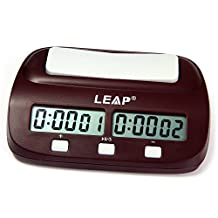 Robolife Professional LEAP PQ9907 Digital Chess Clock Count Up Down Timer