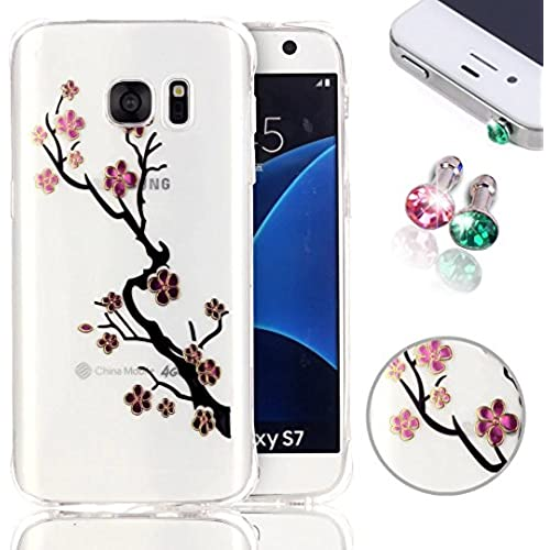 Galaxy S7 Silicone Case, Samsung Galaxy S7 Case, Pershoo Clear Transparent Soft TPU Plastic Rubber Ultra Slim Sales
