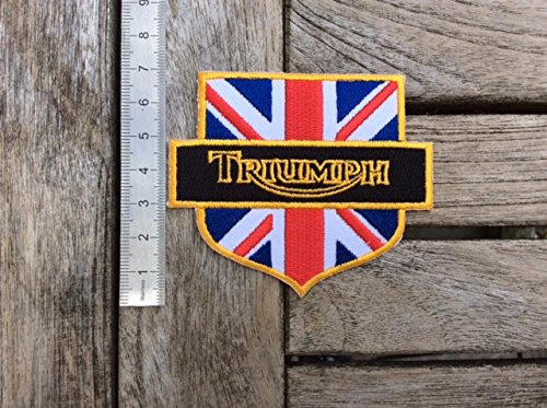 ECUSSON PATCHES AUFNAHER TOPPA TRIUMPH ROUGE THERMOCOLLANT
