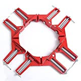 4Pcs 90 Degrees Right Angle Clamp 100mm Corner Clamp Picture Holder Woodworking Holder