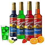 Torani Syrup Variety Pack, Soda Flavors, 25.4