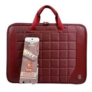 Port Berlin II Notebook Case - Funda para ordenador portátil de 33,8 cm (13,3 pulgadas) hasta 35,6 cm (14 pulgadas) rojo