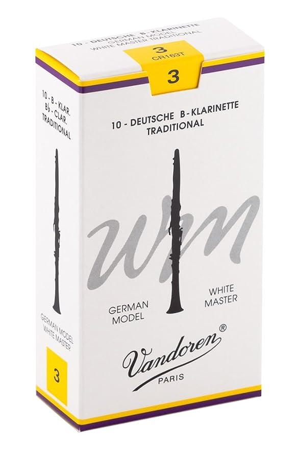 VANDOREN Traditionell Stärke 2,5 Blatt für Bassklarinette