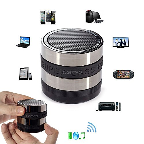 Bluetooth Wireless Speaker Mini Portable Audio Super Bass For iPhone Tablet PC (For Lan Tv Panasonic Adapter)