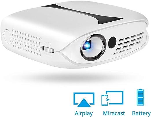 WWK Mini proyector LED, portátil Pico Proyector Soporte 1080P Mini ...