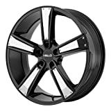 Helo He899 Satin Black W/ Gloss Black & Chrome Inserts - He899 18X8 5X120.00 Black (38 Mm) - HE89988052738
