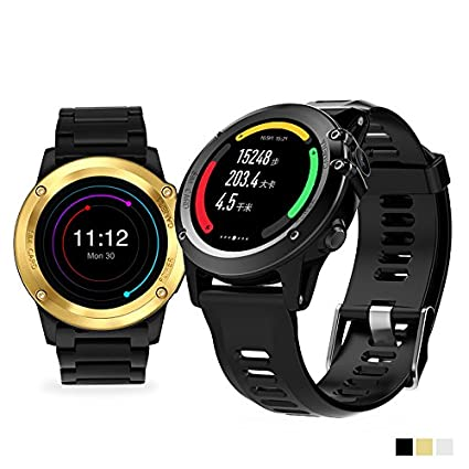 Amazon.com: H1 Smart Watch MTK6572 IP68 Waterproof 1.39inch 400400 GPS Wifi 3G Camera Smart Band (Silver): Cell Phones & Accessories