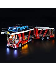 LED Verlichting Kit voor Lego Technic Autotransportvoertuig - 42098 Collectors Model (Niet Inbegrepen Lego-Model)
