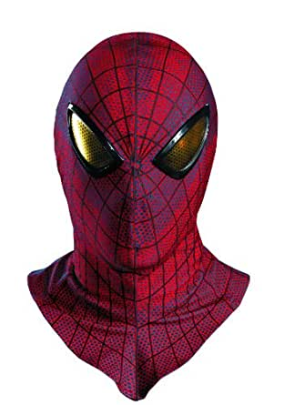 Disguise Marvel The Amazing Spider-Man Movie Adult Deluxe Mask, Red/Blue/Black, One Size