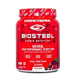 Biosteel High Performance Sports Drink Powder, Naturally Sweetened with Stevia, Mixed Berry, 700 Gram