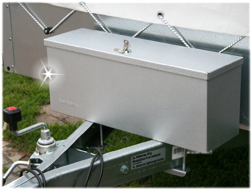 STEMA Deichselbox Staubox PKW Anhänger Werkzeugbox Werkzeug-Kiste Koffer Metall