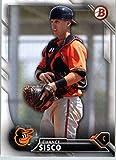 2016 Bowman Baseball Prospect #BP 114 Chance Sisco Baltimore Orioles