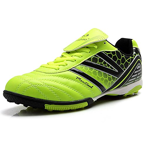 85fb50ba76a Tiebao Men s Hard Ground IC Athletic Soccer Pu Leather Football Shoes